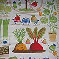 tissu IKEA jardinier 2