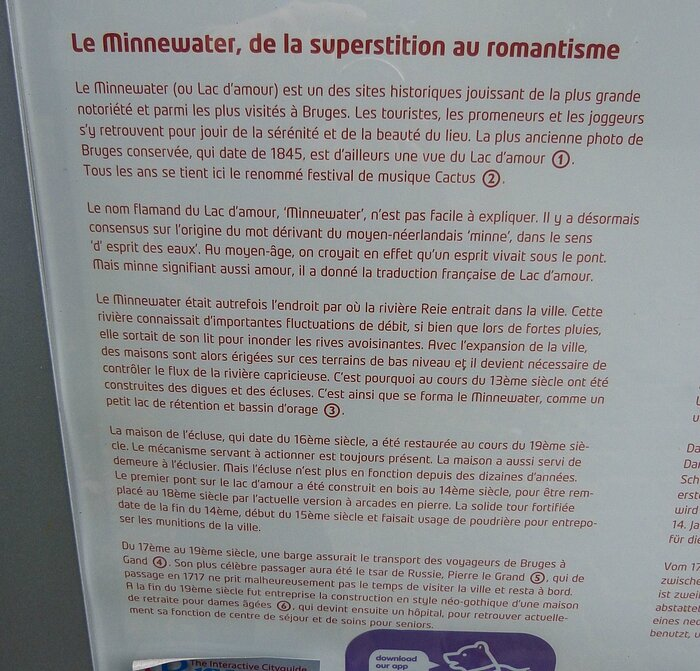 LE MINNEWATER RACONTE