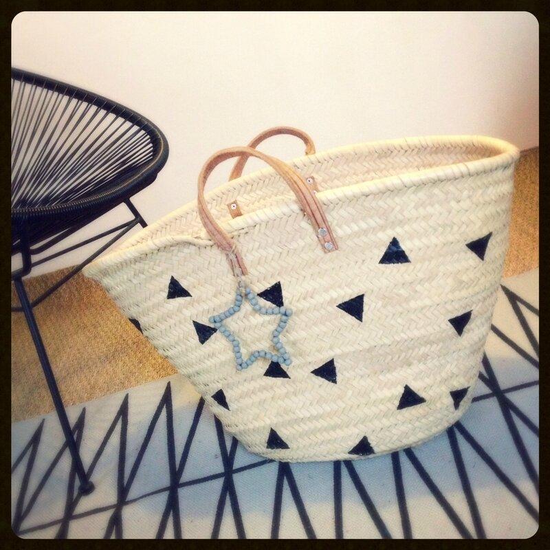 tuto-DIY-panier-osier-paille-plage-marché-triangles-étoile-ferm-living-decotrendy-01