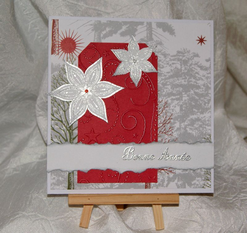 Cartes de no l suite scrap2loum - Carte de voeux scrapbooking ...