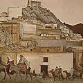 Planche 3 Moulay Driss djebel Zerhoun Moyen Atlas - Le mur blanc