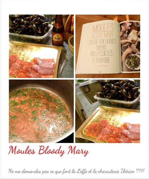 Moules Bloody Mary