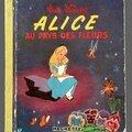 Livre collection ... alice aux pays des fleurs (1959) * les albums roses