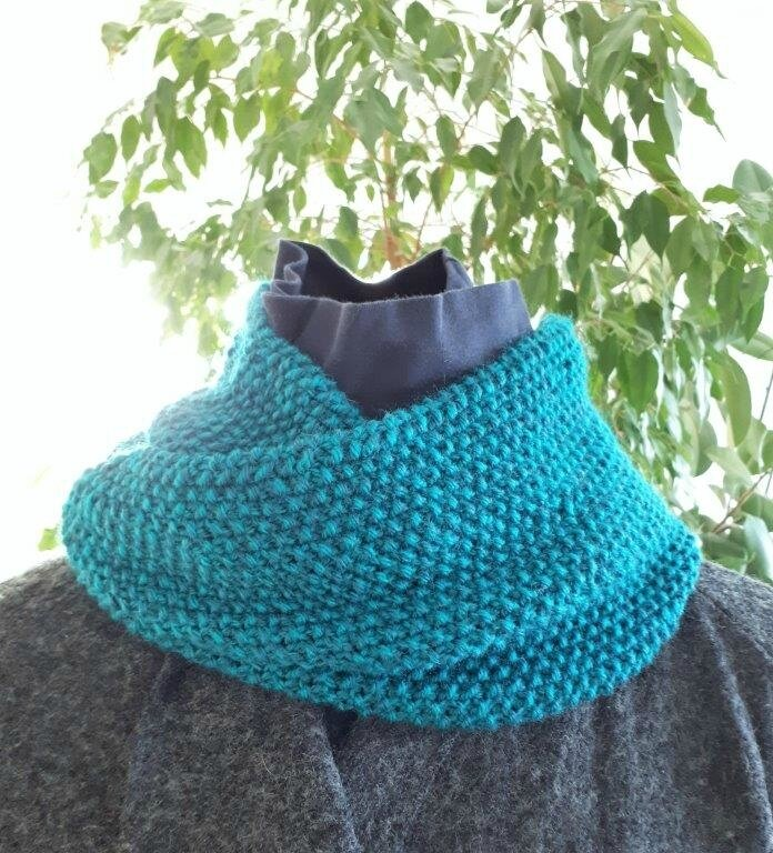 snood point de riz roulé