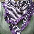 Châle tricot... et couture!