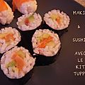Makis, nigiris & sushis ...avec le kit tupperware