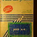 Annuaire paris 1985 par rues