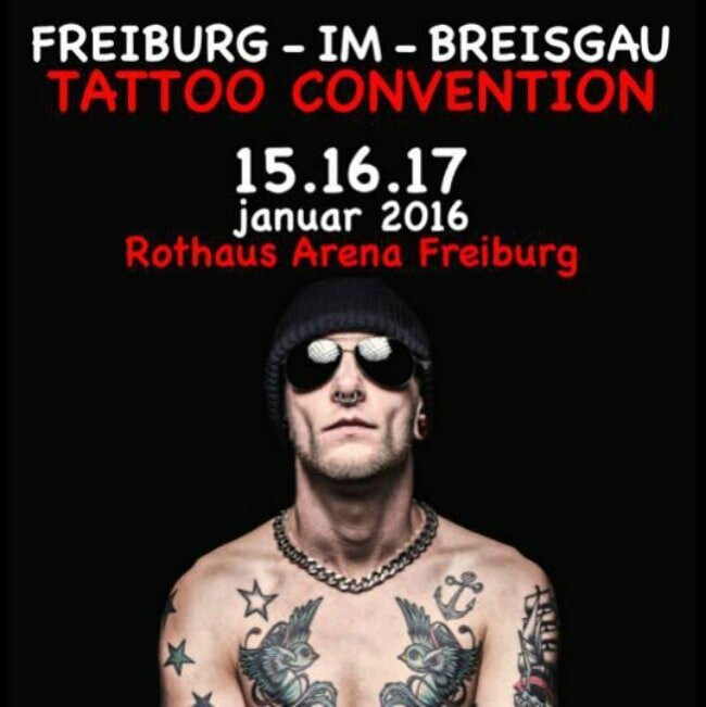 Fribourg Tattoo Week-end actions 12Awesome 12 15 - 17 Janvier 2016
