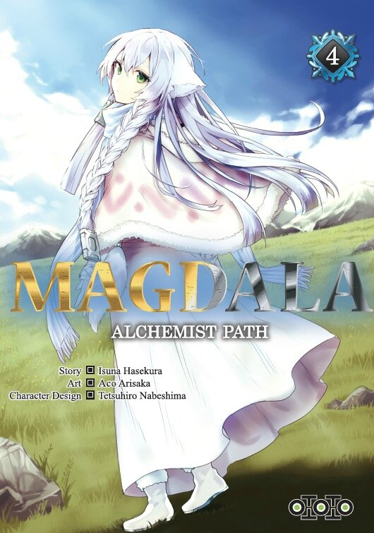 Magdala, alchemist Path, tome 04, Isuna Hasekura, Aco Arisaka & Tetsuhiro Nabeshima