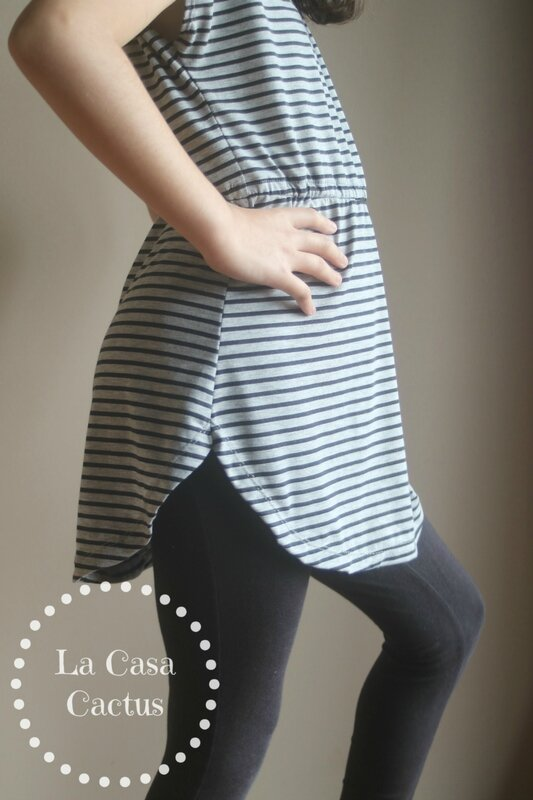 Deer Creek Tunic and Dress by New Horizons, sewn by La Casa Cactus