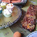 Carrot cake et cupcakes carrot ! ;)