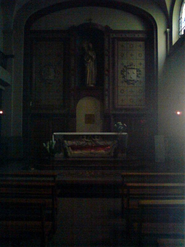 Chapelle du Lycée Notre Dame, le choeur