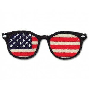 ecusson-thermocollant-lunettes-usa