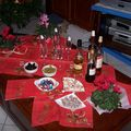 La table à apéritif noel 2007