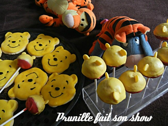 cookies and cake pops winnie the pooh prunillefee