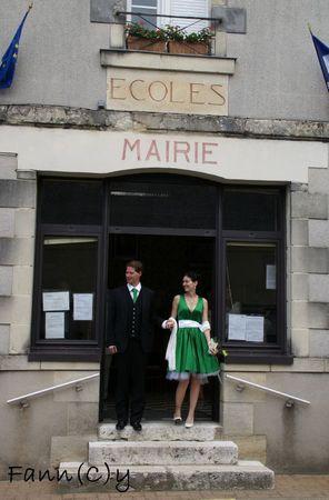 Mon mariage home made Les tenues des mariés par Fann(C)y