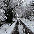 Le chemin de Hauguernes...