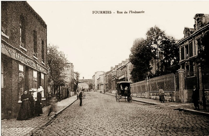 FOURMIES-Rue de l'Industrie1