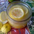 Citron confit express de Miss Souba