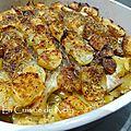 Côtes de porc en gratin de pommes de terre
