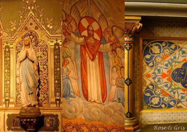 Saint-Vincent l'autel de la Vierge