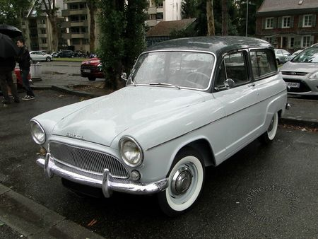 simca aronde p60 ranch 1961 retrorencard 3