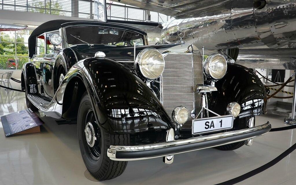Mercedes benz typ gro er mercedes w 150 1938 1943 for Fred martin mercedes benz