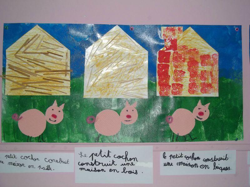 histoire trois petits cochons