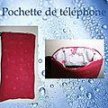 Pochette de téléphone