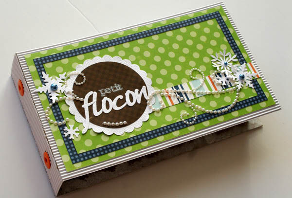 mini album petit flocon 007