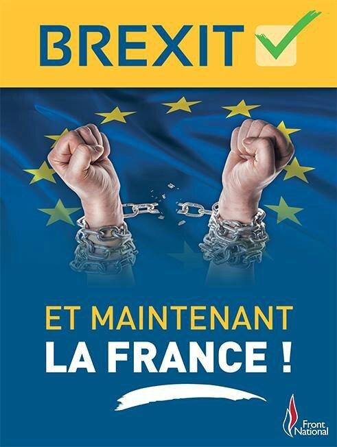 Affiche Frexit