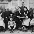 La famille du docteur Malhéné habitant Magny-le-freule
