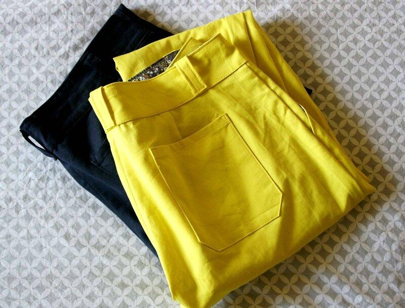 mes deux ports trousers
