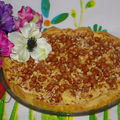 tarte aux pralines 