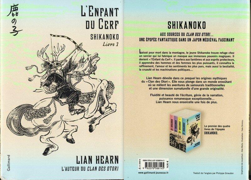 2 -L'enfant du Cerf -Shikanoko livre 1 -Lian Hearn
