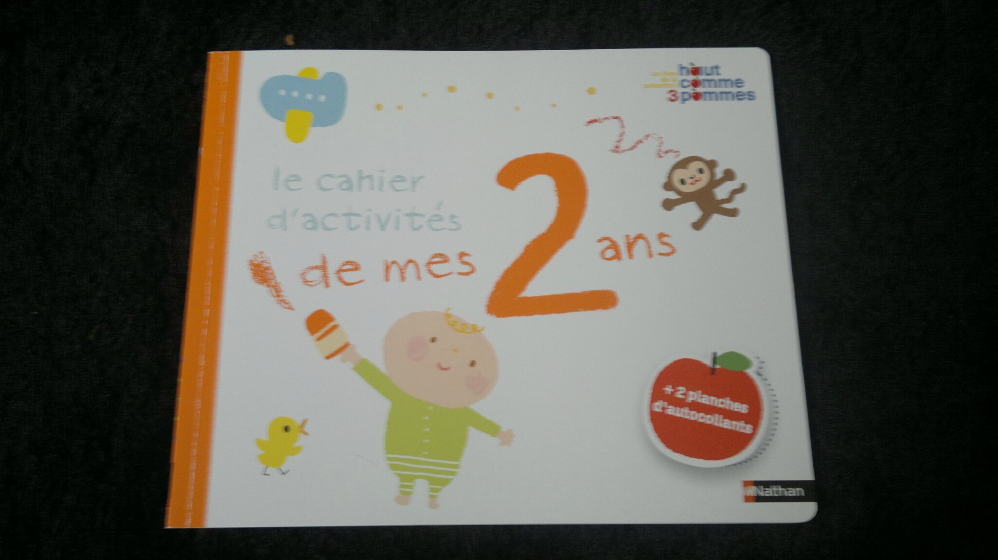 Assez Mes livres d'activités pour 2 ans - La récré de maman AA89