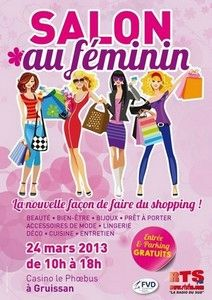 FLYER SALON AU FEMININ