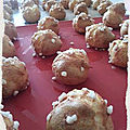 Chouquettes ultra moelleuses au thermomix