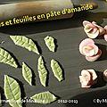 Tuto pour feuilles en pâte d'amande