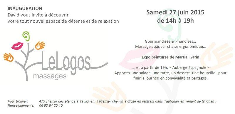inauguration LeLogos Massages