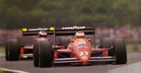 1988_Hungaroring_F1_87_88C_Alboreto_Berger