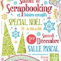 Salon du scrapbooking de carvin, j
