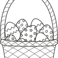 DigiSparkle 0124 - Baskets - Eggs