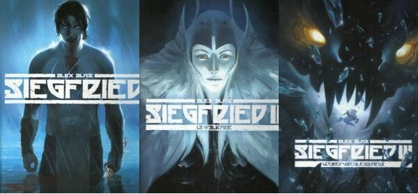 Siegfried 01 à 03 Alex Alice Dargaud