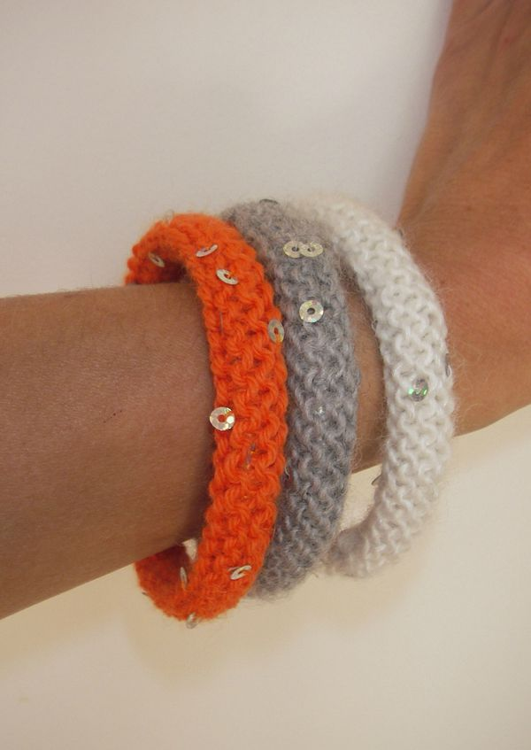 Creation bracelet en laine