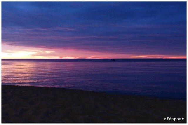 nuit sur la plage de Leucate2