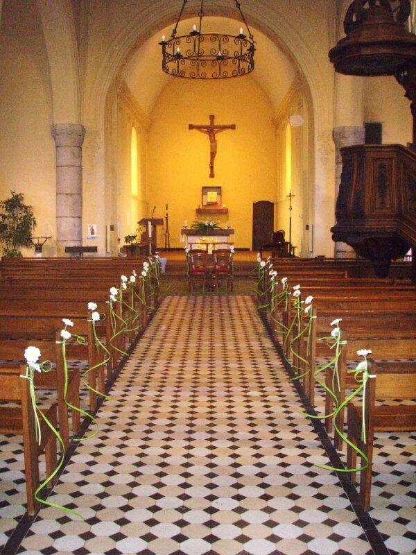 Décoration église nature - Photo de 2010/07- Mariage Amélie et ...