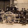 Caen, Quartier Claude Decaen, 43e RAC, canonniers de la classe 1916