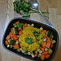 Couscous de légumes - au companion