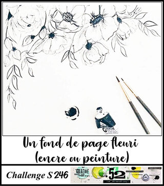 page fleurie